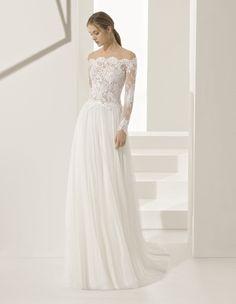 Robe Paloma #collection 2018 #mariage #rosaclara ! #robesdemariee #robes #wedding #weddingdress #dress #bridal #mariée