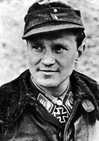 Hauptmann (Wehrmacht) Generalleutnant (Bundeswehr) Walter Krupinski (11 November 1920 – 7 October 2000) fighter ace credited with 197 victories in 1,100 sorties. Knight's Cross on 29 October 1942 as Leutnant and pilot in the 6./Jagdgeschwader 52; 415th Oak Leaves on 2 March 1944 as Oberleutnant and Staffelkapitän of the 7./Jagdgeschwader 52
