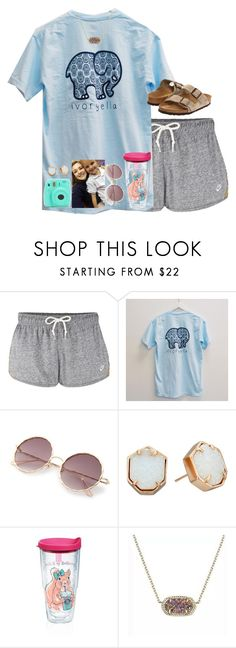 """i SHORE do love my SEAster"" by livnewell ❤ liked on Polyvore featuring NIKE, Fujifilm, Kendra Scott, Tervis and Birkenstock"