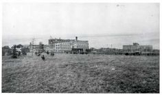 New wing of Regina College under construction. 1911 (City of Regina Archives)