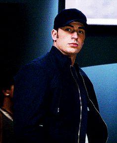 "Chris Evans as Steve Rogers in ""Captain America: The Winter Soldier"""