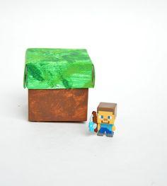 ikat bag: Minecraft Party: Grass Block