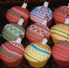 Best Christmas Cupcakes 2015 - 2015 - Cool Christmas Trees & Snowman Cupcake Recipes