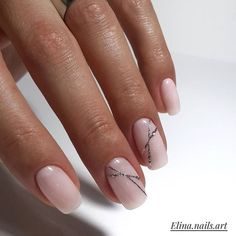 Natural Manicure Classy Shellac 51 Ideas For 2019 Pretty Nail Designs, Nail Art Designs, Gel Nail Art, Acrylic Nails, Fun Nails, Pretty Nails, Organic Nails, Nagellack Trends, Manicure Y Pedicure