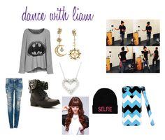 """dance with liam"" by styleshoranpaynetomlinson ❤ liked on Polyvore featuring LAUREN MOSHI, Diego Percossi Papi, Pull&Bear and Effy Jewelry"
