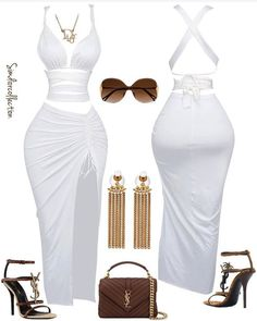 Cute Swag Outfits, Sexy Outfits, Stylish Outfits, Girl Outfits, Black Girl Fashion, Cute Fashion, Look Fashion, Teen Fashion Outfits, Womens Fashion