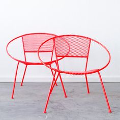C C MCM Hoop Chair Pair, $1,200, now featured on Fab.
