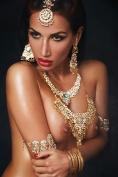 desi Nude Necklaces indian