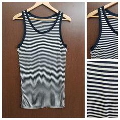 In store now: Black Cream Horiz..., visit http://ftfy.bargains/products/black-cream-horizontal-stripes-long-top?utm_campaign=social_autopilot&utm_source=pin&utm_medium=pin  #amazing #affordable #fashion #stylish