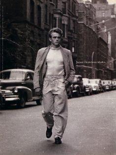 """""""James Dean wore khakis.""""  Gap ad, 1993"""