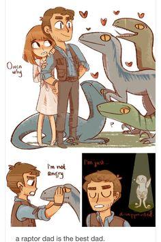 Jurassic world is awesome Cute Comics, Funny Comics, Castlevania Anime, Funny Memes, Hilarious, Dinosaur Art, Dinosaur Meme, Jurassic Park World, Godzilla