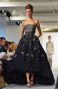 Oscar de la Renta: colección primavera-verano 2013 vista en la Semana de la Moda de Nueva York