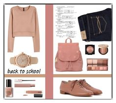"""""""Inspiration-school"""" by puljarevic ❤ liked on Polyvore featuring Abercrombie & Fitch, TOMS, Gianvito Rossi, H&M, Bobbi Brown Cosmetics, Maybelline, MAC Cosmetics, Burberry, NYX and Too Faced Cosmetics"""