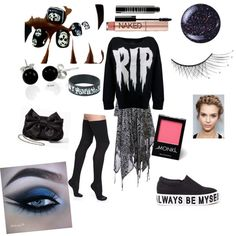 will be the death of my first date :) get it. :) by hrit on Polyvore featuring polyvore fashion style Billabong Bootights Bling Jewelry Urban Decay Lord & Berry Monki Butter London Pointer Alexander McQueen