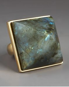 Labradorite Ring by Kara Ross