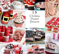 15 Christmas Themed Desserts #food