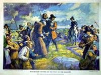Understanding the Salem Witch Trials ~ In this lesson, students will explore the characteristics of the Puritan community in Salem, learn about the Salem Witchcraft Trials, and try to understand how and why this event occurred. Includes student launchpad resource. http://edsitement.neh.gov/launchpad-salem-witch-trials