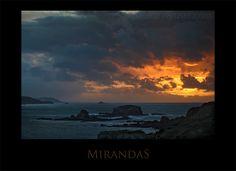 Atardecer. Las Mirandas, Ares. La Coruña, España - Pablo Avanzini