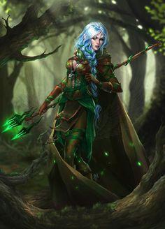 elf druid female - Recherche Google