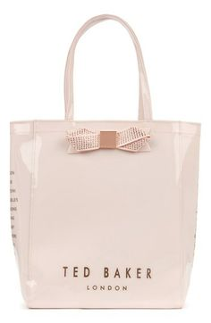 Ted Baker London 'Gemcon' Metallic Bow Tote available at #Nordstrom