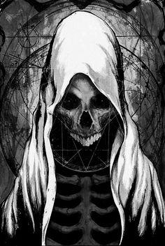 "forsaken-in-aeternum: "" ""Behold, I Am Death"" by Shawn Coss """