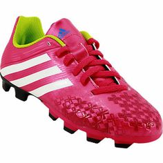 buy popular 4d3ae c1d37 Girls Adidas Predito LZ TRX FG Outdoor Soccer Cleats Kids Soccer Cleats,  Good Soccer Players
