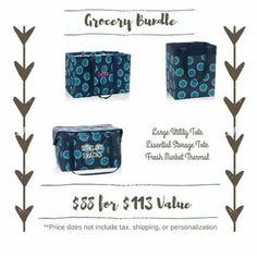 Grocery bundle  Www.mythirtyone.com/jyingling
