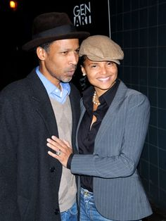 Victoria Rowell and hubby...
