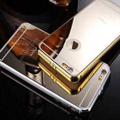 NEW Luxury Aluminum Ultra-thin Mirror Metal Case Cover for Apple iPhone 6/6 Plus #zlinus