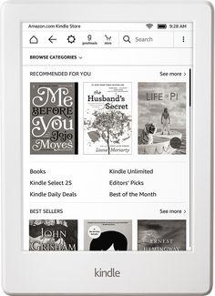 Amazon - Kindle - White