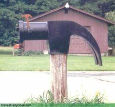 Unique Custom Mailboxes... Lol