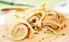 Frittaten-Rezepte gibt es viele und sind sehr beliebt. Diese Suppeneinlage kann auch toll eingefroren werden.