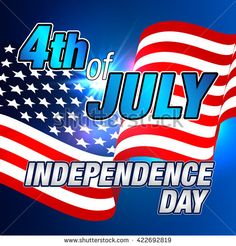 Fourth of July Banner. Happy Independence Day Vector Design. #fourthofjuly #patriotic #independenceday #july4th  #4thofjuly #vector #card #banner #poster