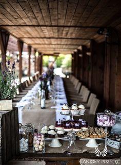 18. Lavender Wedding,Rustic decor / Wesele lawendowe,Rustykalne dekoracje,Anioły Przyjęć