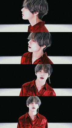 Teahyung #in red