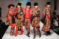 Slava Zaitsev and the Glory of Russia Fashion Week Russian Traditional Dress, Traditional Dresses, Russian Style, Russian Folk, Fashion Show, Fashion Outfits, Fashion Trends, Live Fashion, Fashion Fashion