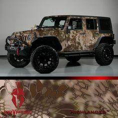 US Night Vision  - KRYPTEK® Camo Vehicle Wrap Kits , $1,495.00…