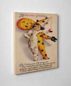 Vintage Halloween Wall Art