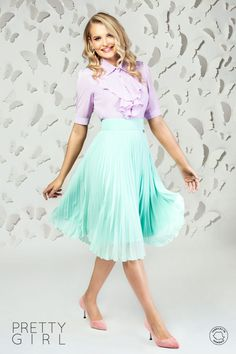 Cămașă damă lila din voal cu jabou Pretty Girls, Tulle, Ballet Skirt, Spring Summer, Skirts, Outfits, Fashion, Moda, Skirt