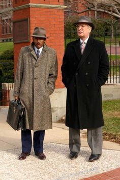 "From the 2004 movie, ""Something the Lord Made."" Alan Rickman played Dr. Alfred Blalock & Mos Def played Vivian Thomas."