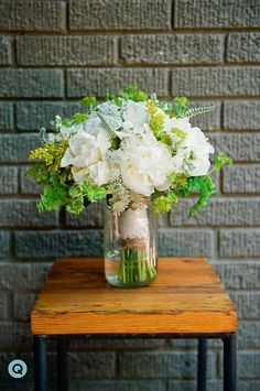 beautiful colors and lace wrap bouquet
