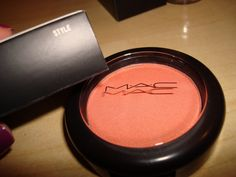 MAC Style.  Best blush with summertime tan.