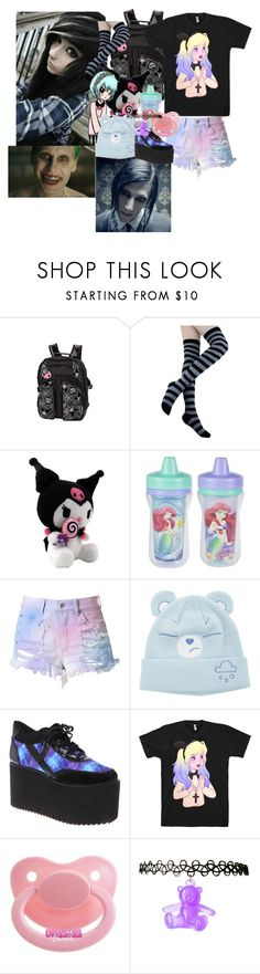 """bats"" by hexgirl6672 ❤ liked on Polyvore featuring Cotton Candy and jared"
