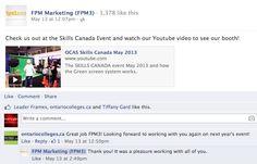 Skills Canada Event '13