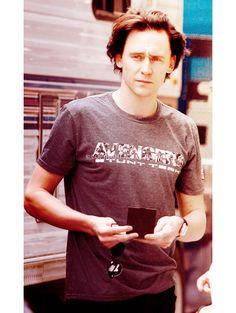 Tom Hiddleston -- bonus 20 points for his tee 8)