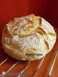 Bread Recipes, Diet Recipes, Cake Recipes, Cooking Recipes, Baking And Pastry, Bread Baking, Healthy Homemade Bread, Homemade Breads, Hungarian Recipes