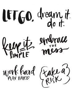 Vision Board Printables Free Inspirational Words and Phrases you can use to personalize your boards and visualize your goals this year. Vision Board Images, Vision Board Ideas Diy, Vision Board Template, Creating A Vision Board, Inspirational Quotes, Printables, Hope Quotes, Vision Quotes, Quotes Quotes