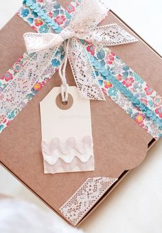 Vintage Gift Wrapping by www.facilysencillo.es
