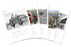 12 Page Calender Printing - offers Online 12 Page Calendar Printing Service, Custom 12 Page Calendar Printing.
