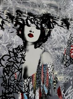Street Art by Hush | Cuded